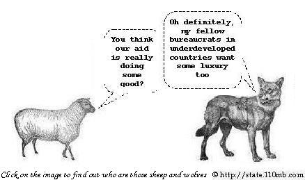 The Wolf and Sheep Relationship