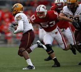 LB Mike Taylor (Wisconsin)