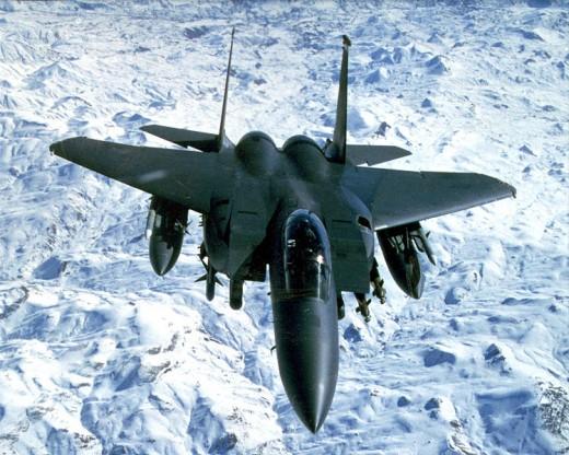 F-15e Strike Eagle over Iraq