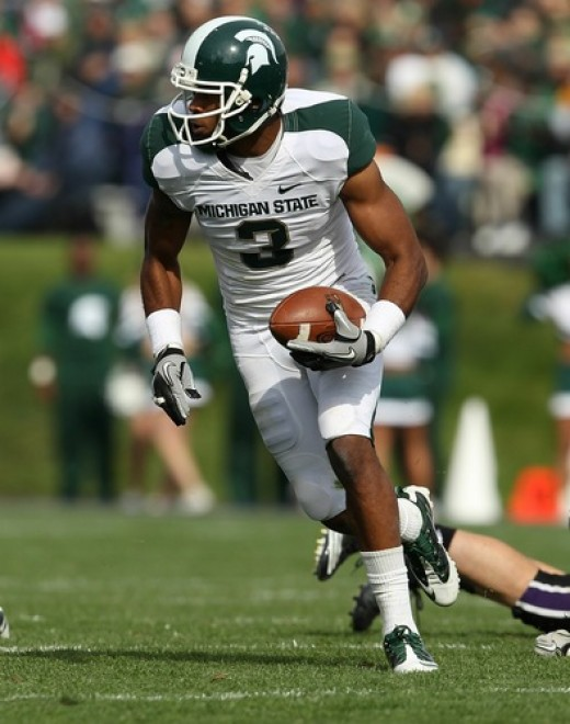 WR BJ Cunningham (Michigan State)