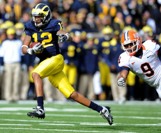 WR Roy Roundtree (Michigan)