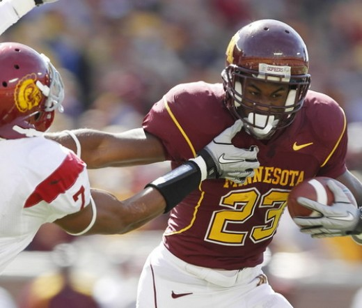 RB DeLeon Eskridge (Minnesota)