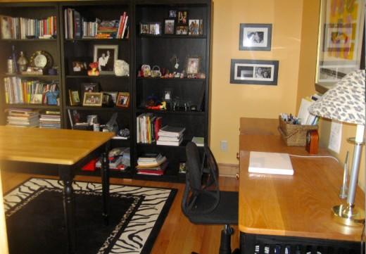 alpha girl desk area