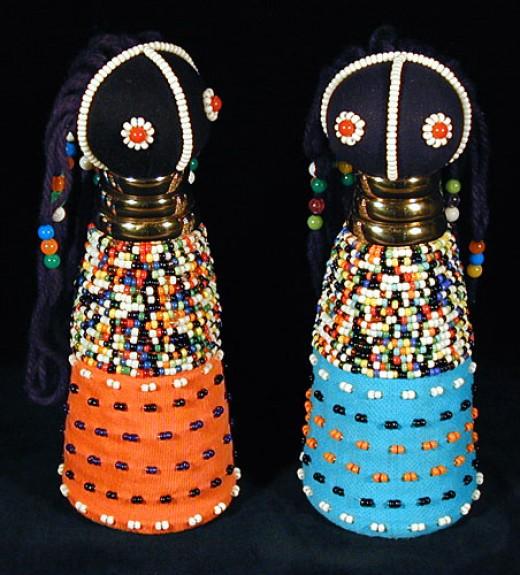 Ndebele Sangoma Doll