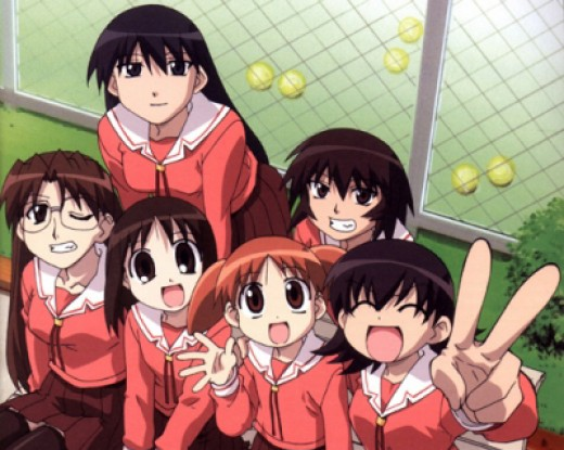 "Anime shows, such as ""Azumanga Daioh,"" tend to be pretty formulaic. But it works!"