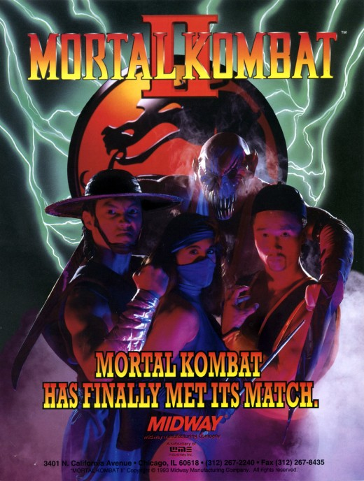 The match was every other fighting game on the market