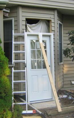 Fig 5. Door Ready For Installation.