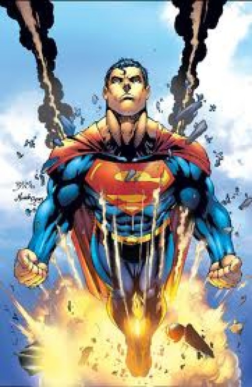 SUPERMAN - My All-Time FAVORITE super hero that I would love to be all of the time. What's not to like about Superman? His jet-black hair, super-body and Xray and Heat vision, what a guy. I 'd make my secret identity, Ken Kent, bold and confident.