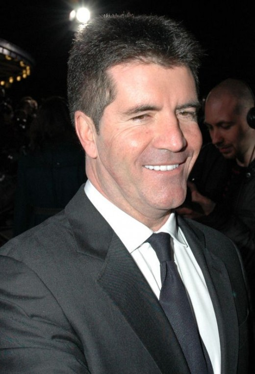 Cowell: Loves himself because nobody else does.