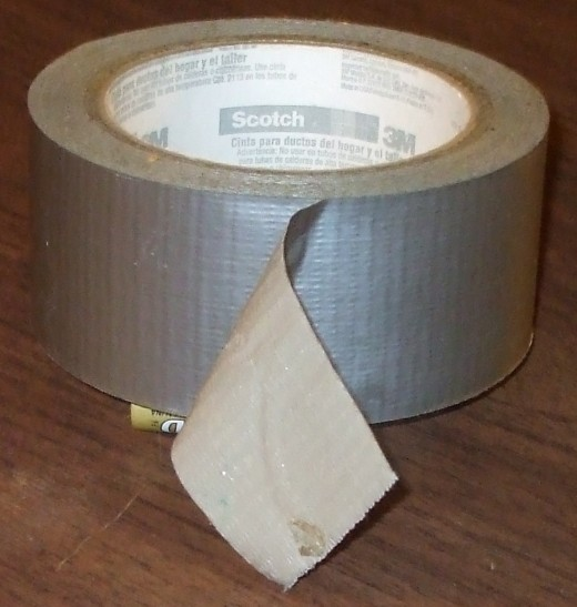 You can never have too much duct tape.