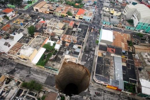 Guatemala sinkhole