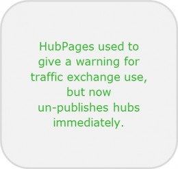 traffic exchange no warning