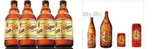 San Miguel Beer and Red Horse Beer