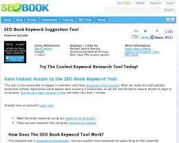 SEOBook offers a free keyword suggestion tool that I've been using since I started writing here on HubPages