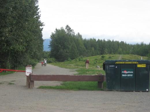 Conner's Bog Main Trail & Dumpster