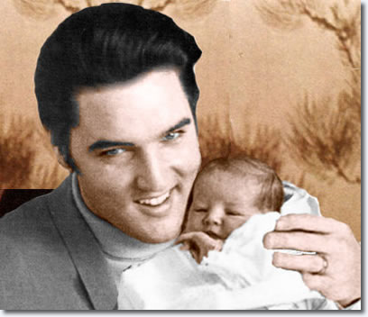 Presley in his most important role: Father