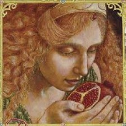 Persephone Eating the Pomegranite Seeds