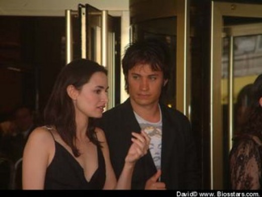 Gael García Bernal dated Natalie Portman for a year, after they met at the