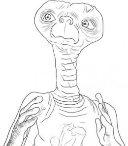 Kids Aliens Coloring Pages Free Colouring Pictures to Print