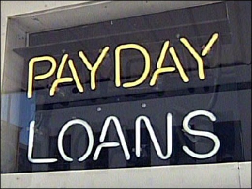Use care if applying for a pay day loan or you may go to pay day loan hell. Which is a place you don't want to be.