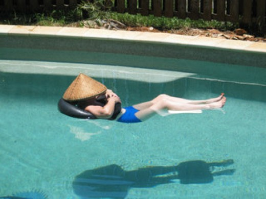 Best way to avoid shark attack - swim in pool