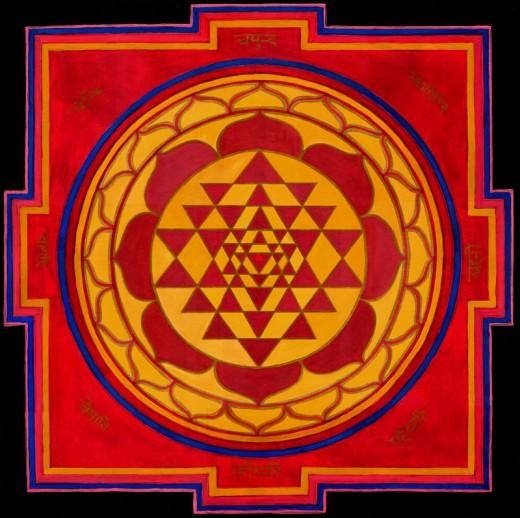 Increasing Concentration - The Sri Chakra Way