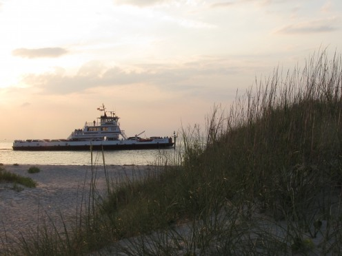 Hatteras to Ocracoke Ferry System