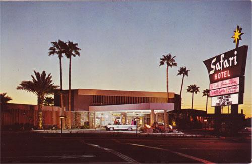 The Safari Hotel, part of the Safari Resort, was an Arizona landmark for decades.