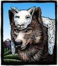 This artwork says it BEST in describing all con men: Wolf in a Sheep's Clothing. Jesus warned us about people like this in daily life.