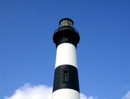 Bodie Island Lighthouse (pronounced BODY)