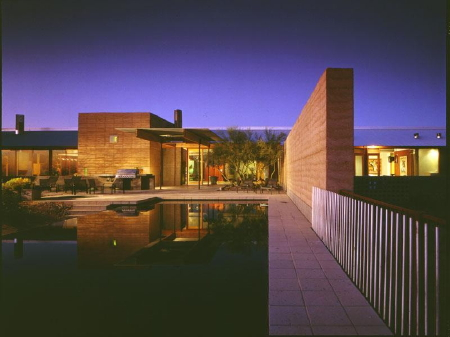 Eddie Jones designed this house that is located just outside of Scottsdale.