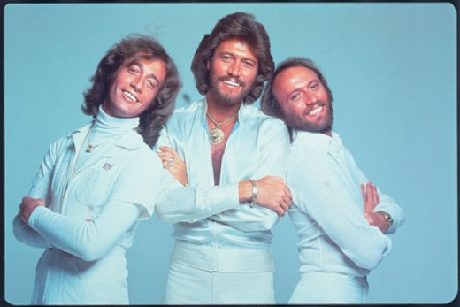 The Bee Gees ~ ~ ~ © Rhino Records