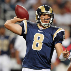 QB Sam Bradford will look to improve upon his solid rookie season