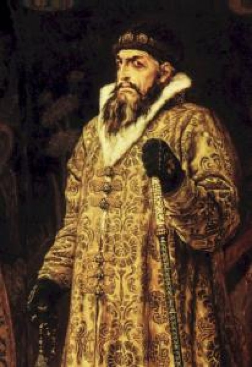 "Tsar Ivan IV, ""Ivan the Terrible"""