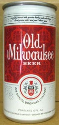 Old Milwaukee beer. Another guest we had during our Great, Secret Southern Backwoods Beer Fest.