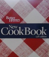 My copy of Better Homes and Gardens New Cook Book