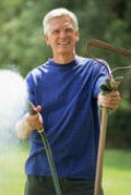 Watering the repaired area of your lawn is a needed chore. Water the repaired area of your lawn daily until the special grass seed has time to set root in the soil.