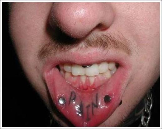 Inner Lip Tattoo Fading