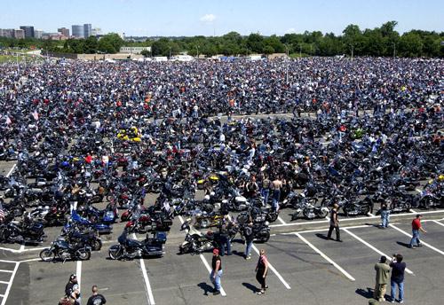 Rolling Thunder assembles at Pentagon