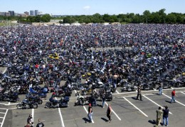 Rolling Thunder assembles at Pentagon