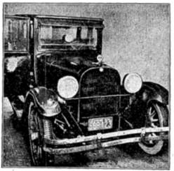 The infamous blue sedan
