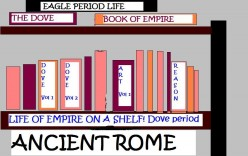 ANCIENT ROME - DOVE AND EAGLE
