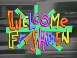 Seniors welcoming Freshman in college