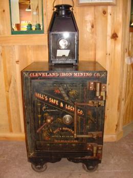 An old mine safe.