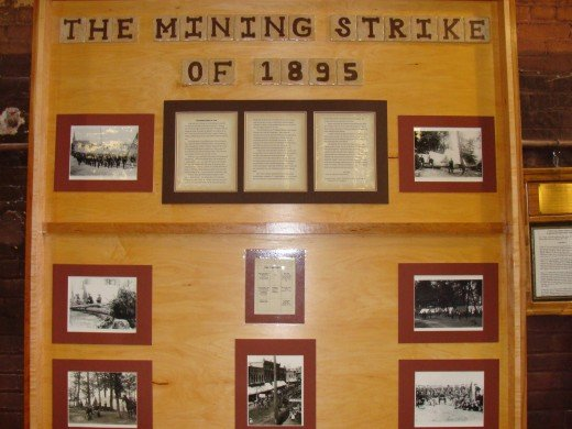 History of various mining events are displayed here.