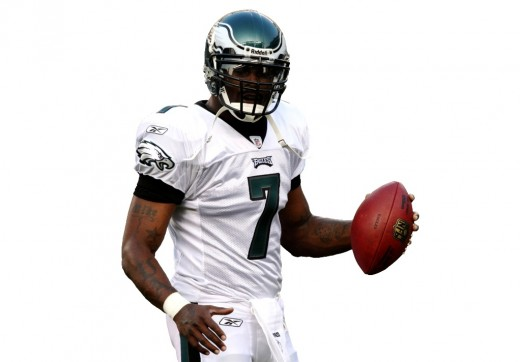 Michael Vick Philadelphia Eagles #7 Quaterback