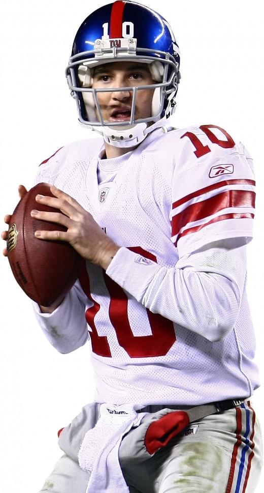 Eli Manning New York Giants #10 Quarterback