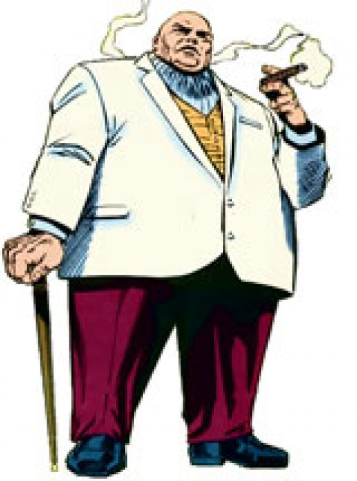 THE KINGPIN, ENEMY OF SPIDERMAN.