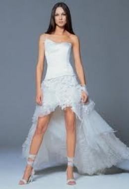 короткие свадебные платья 2012 фото.