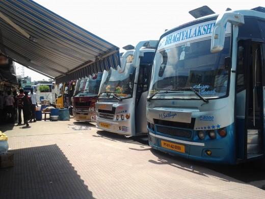 Koyambedu Private Bus Stand